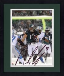 "Framed Riley Cooper Philadelphia Eagles Autographed 8"" x 10"" Snow Photograph"