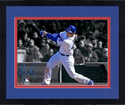 "Framed Anthony Rizzo Chicago Cubs Autographed 11"" x 14"" Spotlight Photograph"