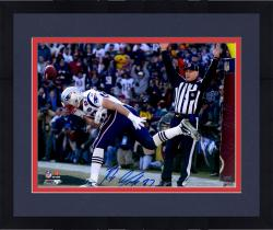 "Framed Rob Gronkowski New England Patriots Autographed 16"" x 20"" TD Catch Photograph"
