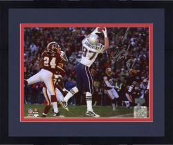 Framed Rob Gronkowski New England Patriots Autographed 8'' x 10'' TD Catch Photograph