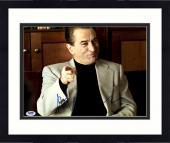 "Framed Robert De Niro Autographed 11"" x 14"" Analyze That Pointing Finger Photograph - PSA/DNA COA"
