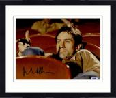 """Framed Robert De Niro Autographed 11"""" x 14"""" Taxi Driver Sitting in Movie Theater Photograph - PSA/DNA COA"""