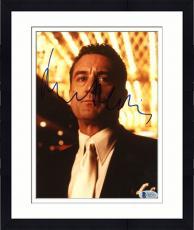 """Framed Robert De Niro Autographed 8""""x 10"""" Casino Standing Under Lights Photograph - Beckett COA"""