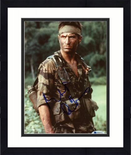 """Framed Robert De Niro Autographed 8""""x 10"""" The Deer Hunter Wearing Camouflage Photograph - Beckett COA"""