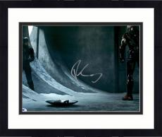 "Framed Robert Downey JR. Autographed 11"" x 14"" Captain America vs. Iron Man Photograph - PSA/DNA"