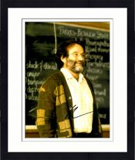 Framed Robin Williams Autographed 11'' x 14'' In Classroom Photograph