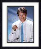 "Framed Robin Williams Autographed 8""x 10"" White Jacket & Blue Tie Photograph -  Beckett COA"