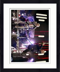 """Framed Roger Daltrey & Peter Townshend Autographed 11"""" x 14"""" Playing in Concert Photograph - Beckett COA"""