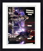 "Framed Roger Daltrey & Peter Townshend Autographed 11"" x 14"" Playing in Concert Photograph - Beckett COA"