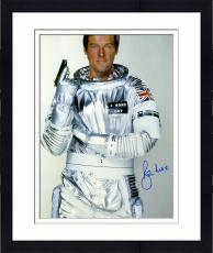 "Framed Roger Moore Autographed 16"" x 20"" James Bond Moonraker Photograph - JSA COA"