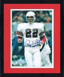 Framed Roger Wehrli Arizona Cardinals Autographed 8'' x 10'' Action Photograph with HOF 07 Inscription