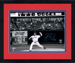 "Framed Robbie Ross Texas Rangers Autographed 11"" x 14"" Spotlight Photograph"