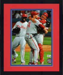 """Framed Roy Halladay Philadelphia Phillies Perfect Game Autographed 8"""" x 10"""" Photograph"""