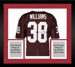 Framed Roy Williams Oklahoma Sooners Autographed Wilson Jersey