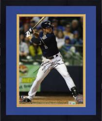 "Framed Ryan Braun Milwaukee Brewers Autographed 8"" x 10"" Photograph"
