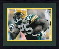 """Framed Ryan Grant Green Bay Packers Autographed 8"""" x 10"""" Running Photograph"""