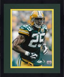 """Framed Ryan Grant Green Bay Packers Autographed 8"""" x 10"""" Rushing Photograph"""