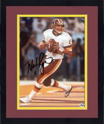Framed RYPIEN, MARK AUTO (REDSKINS/LOOK/THROW) 8X10 PHOTO - Mounted Memories