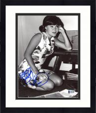 "Framed Sally Field Autographed 8"" x 10"" As A Child Photograph - Beckett COA"
