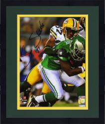 "Framed Sam Shields Green Bay Packers Autographed 8"" x 10"" Action Photograph"