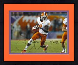 Framed Sammy Watkins Clemson Tigers Autographed 16'' x 20'' Orange Bowl Photograph with 14 OB MVP Inscription