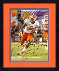 "Framed Sammy Watkins Clemson Tigers Autographed 8"" x 10"" Orange Bowl Photograph"