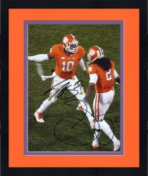 Framed Sammy Watkins & Tajh Boyd Clemson Tigers Dual Autographed 8'' x 10'' High Five Photograph