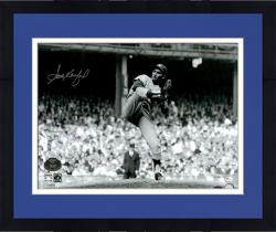 "Framed Sandy Koufax Los Angeles Dodgers Autographed 16"" x 20"" 1963 World Series Game 1 Wind Up Photograph"