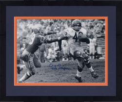 Framed SAYERS, GALE AUTO (BEARS)(B&W)(VS 49ERS) 16x20 PHOTO - Mounted Memories