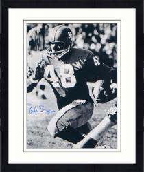 "Framed Gale Sayers Kansas Jayhawks Autographed 16"" x 20"" Ball In One Hand Photograph"
