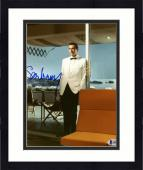 "Framed Sean Connery Autographed 8"" x 10"" James Bond White Tux Photograph - BAS COA"