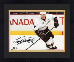 "Framed Teemu Selanne Anaheim Ducks Autographed 8"" x 10"" Horizontal White Photograph"