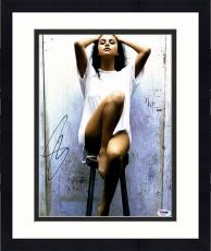 "Framed Selena Gomez Autographed 11"" x 14"" Posing  Photograph - PSA/DNA"