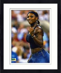 Framed Serena Williams Autographed Picture - 8x10