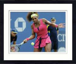 Framed Serena Williams Signed Picture - 8x10