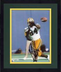 Framed Sterling Sharpe Green Bay Packers Fanatics Authentic Autographed 8'' x 10'' About To Catch Photograph
