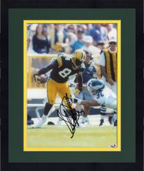Framed Sterling Sharpe Green Bay Packers Fanatics Authentic Autographed 8'' x 10'' Break Tackle Photograph