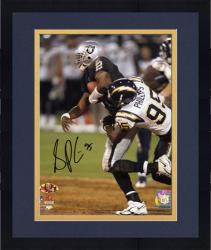 "Framed Shaun Phillips San Diego Chargers Autographed 8"" x 10"" vs Oakland Raiders Photograph"