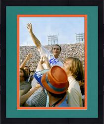 Framed Don Shula Miami Dolphins Fanatics Authentic Autographed 16'' x 20'' On Shoulders Photograph with HOF 97 inscription