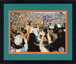 Framed Don Shula Miami Dolphins Autographed 8'' x 10'' Hands Open Photograph with Perfection inscription