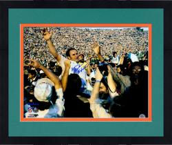 Framed Don Shula Miami Dolphins Fanatics Authentic Autographed 16'' x 20'' On Shoulders Photograph with Perfection inscription