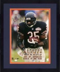 Framed Anthony Thomas Autographed Bears 16x20 Photo