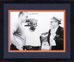 "Framed Dick Butkus Chicago Bears Autographed 16"" x 20"" with Halas & Sayers Photograph"