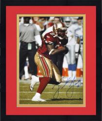 Framed Frank Gore San Francisco 49ers Autographed 16'' x 20'' Ball In One Hand Photograph