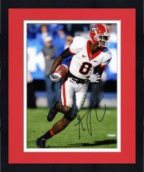"Framed A.J. Green Georgia Bulldogs Autographed 8"" x 10"" Running with Ball Photograph"