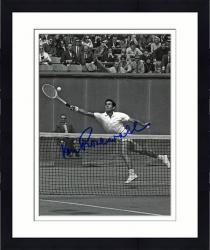 Framed Signed Ken Rosewall Photo - BW)(OUTSTRETCHED 8x10 Mounted Memories