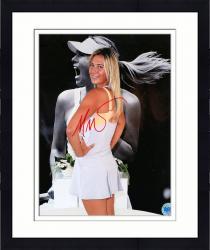 Framed Signed Maria Sharapova Photo - 8x10