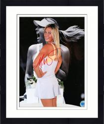 Framed Maria Sharapova Autographed 8'' x 10'' Pose Photograph