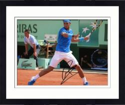 """Framed Rafael Nadal Autographed 8"""" x 10"""" Lacoste Royal Photograph"""