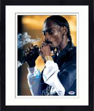 "Framed Snoop Dogg Autographed 11"" x 14"" Smoking Photograph - PSA/DNA"